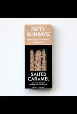Fatty Sunday Salted Caramel Chocolate Covered Pretzels
