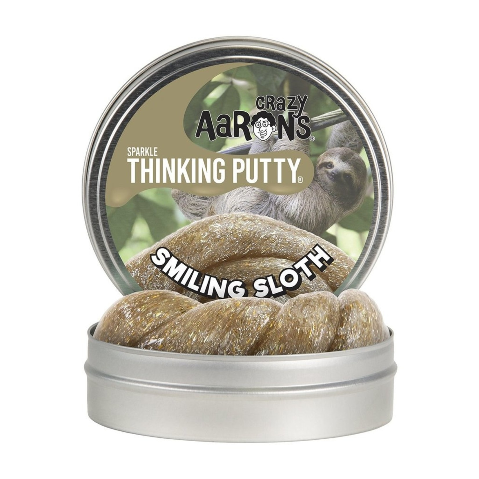 Crazy Aaron's Crazy Aaron's Smiling Sloth Thinking Putty