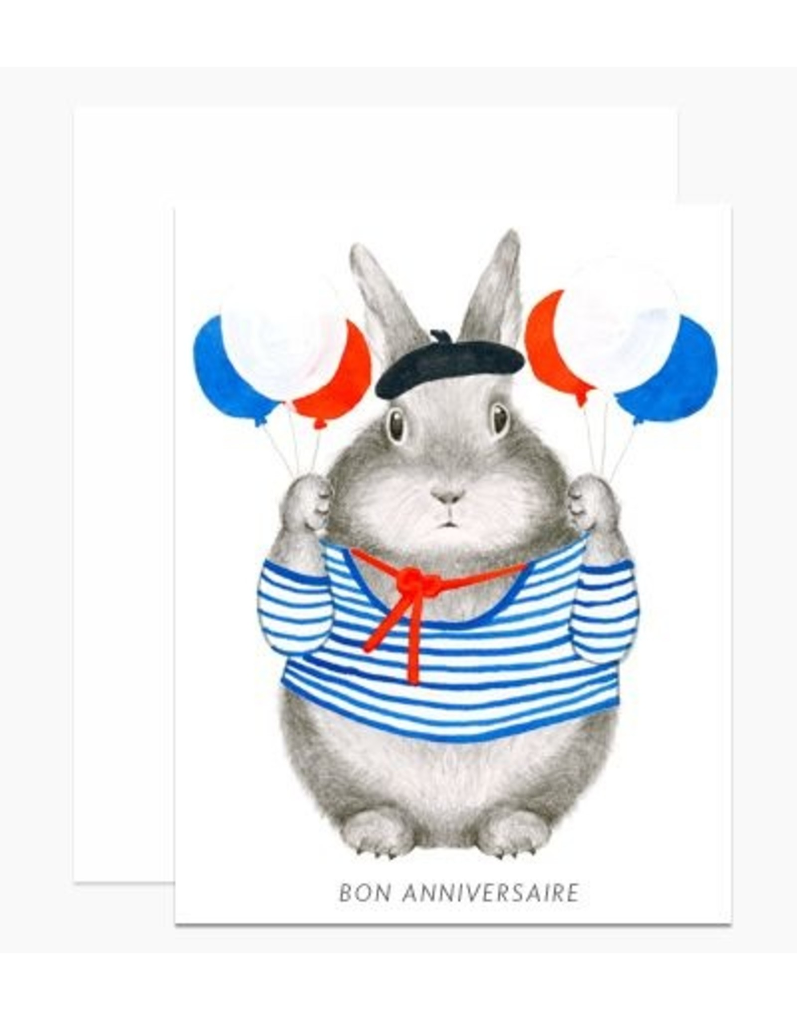 Birthday Card: Bon Anniversaire