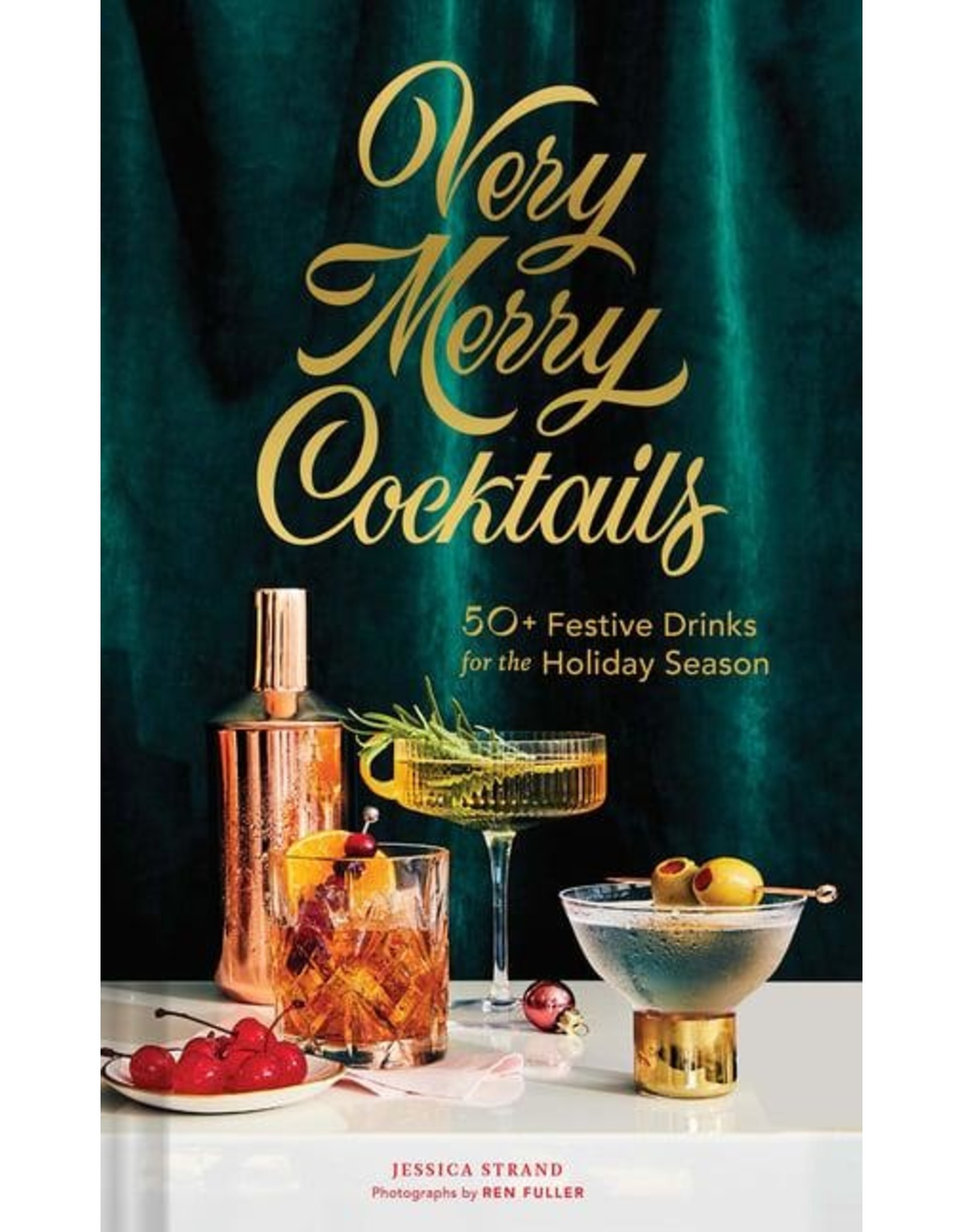 Chronicle Books Very Merry Cocktails