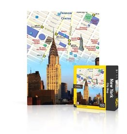 New York Puzzle Company NYC Map Mini Puzzle