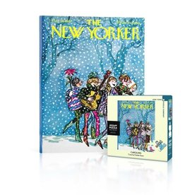New York Puzzle Company Caroling Mini Puzzle