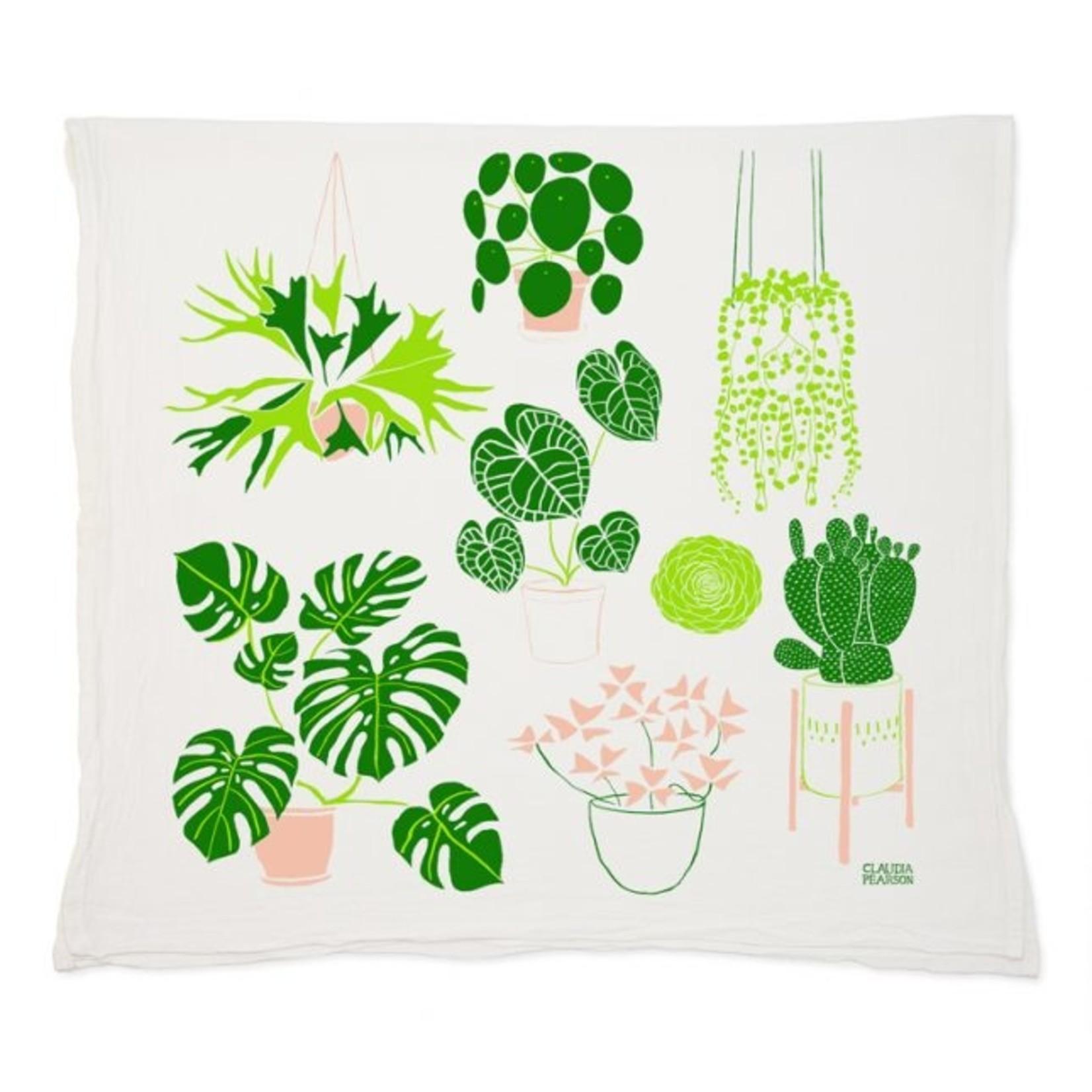 Claudia Pearson Bloom Tea Towel