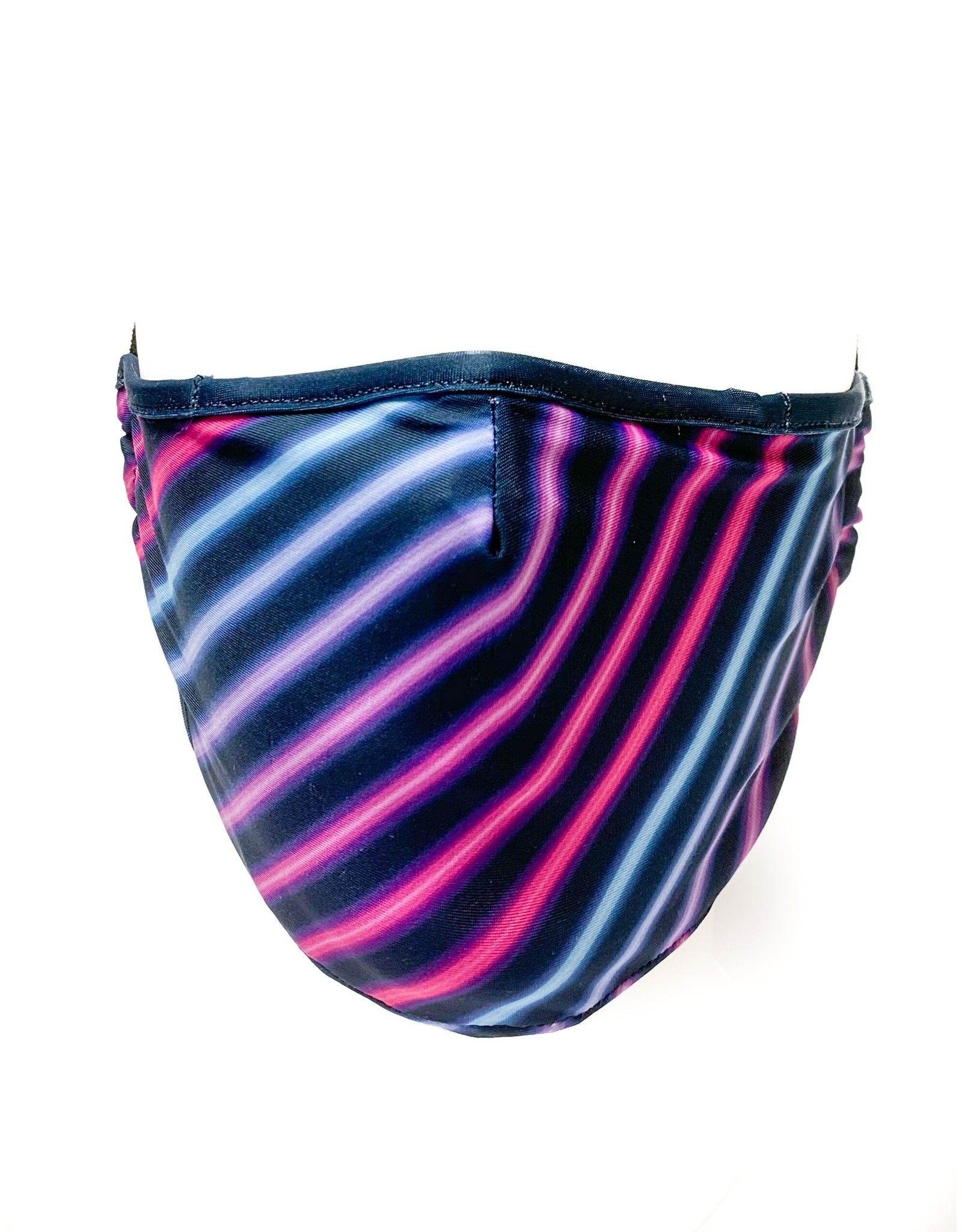 FYDELITY FYDELITY Face Mask - Miami Stripes
