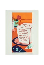 Blue Q Food Delivery Guy Dish Towel