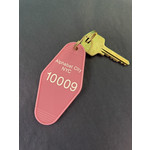 Exit9 Gift Emporium Alphabet City Motel Key Tag