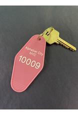 Exit9 Gift Emporium Alphabet City Motel Key Tag