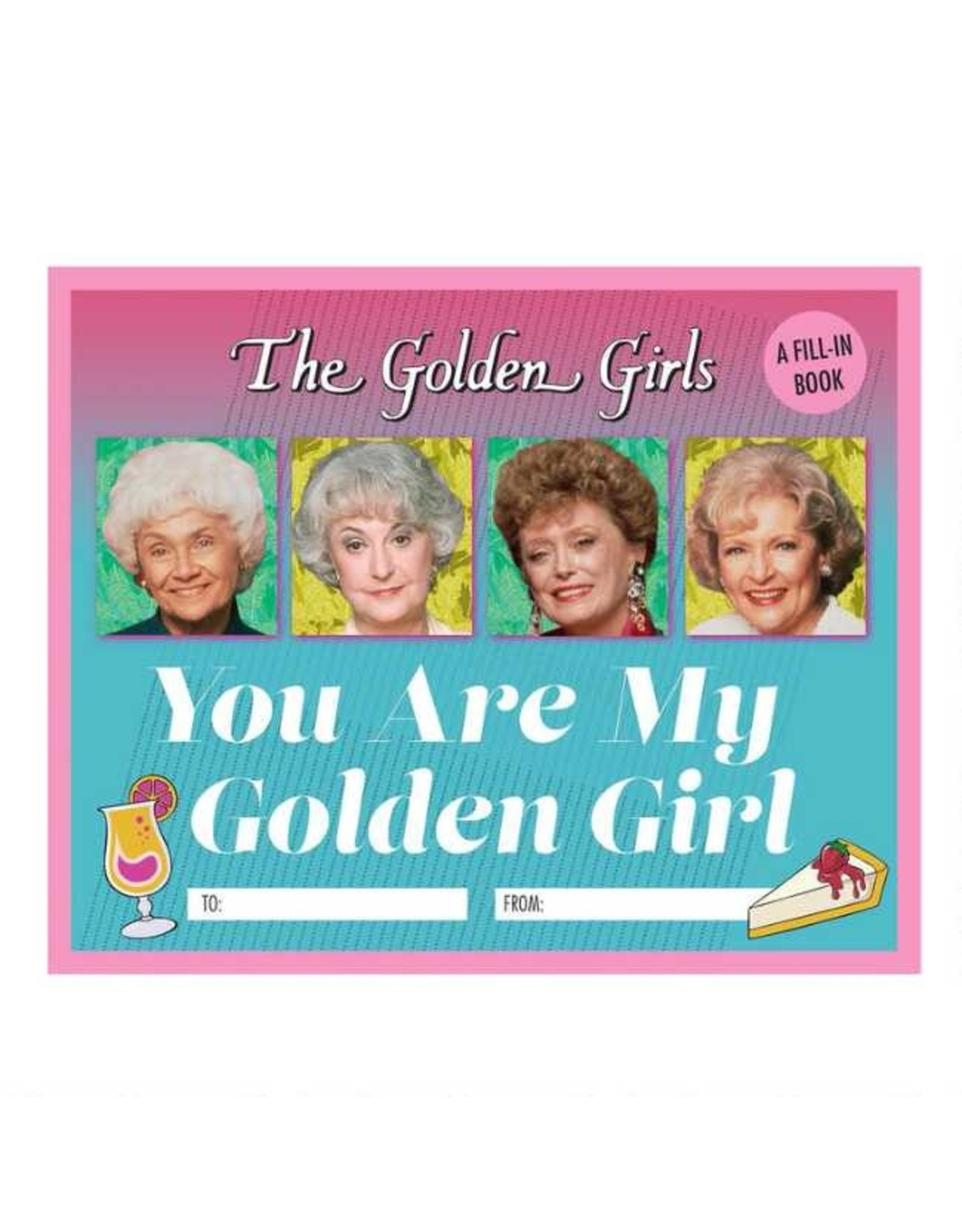 "Hachette ""Golden Girls"" Fill In Book"