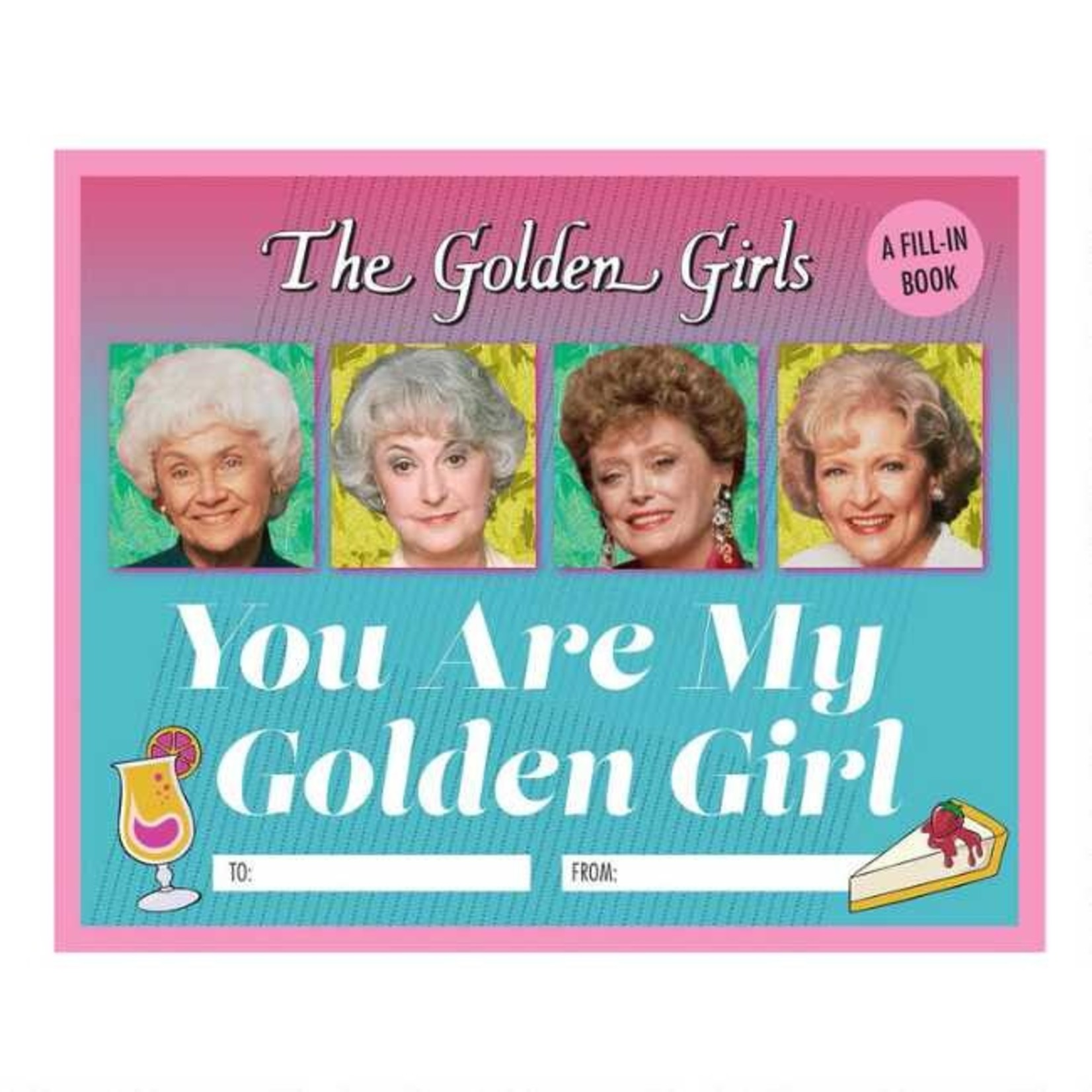 "Hachette ""Golden Girls"" Fill In Book"