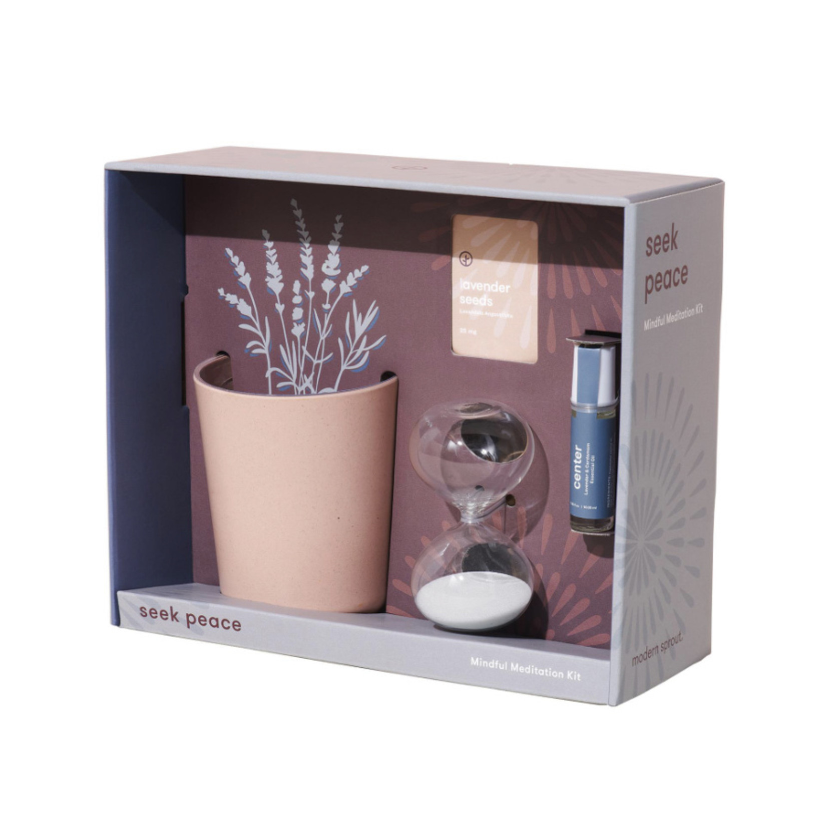 Modern Sprout Seek Peace Mindful Meditation Kit