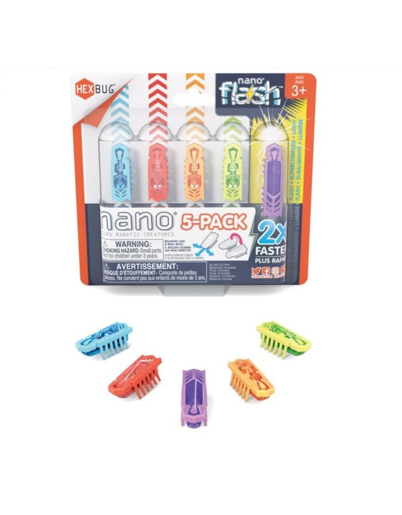 Innovation First HEXBUG Flash Nano 5 pack