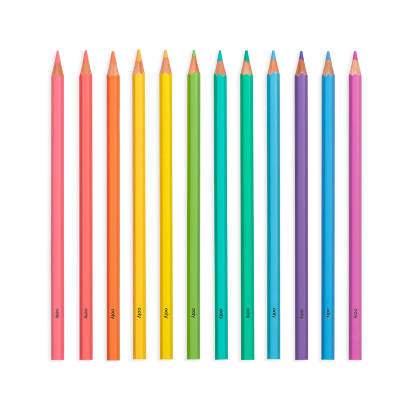 OOLY Pastel Hues Colored Pencils