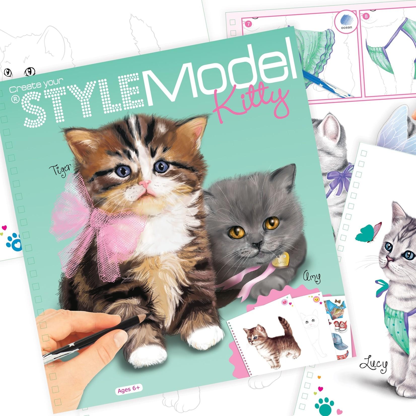 Kitty Fashion Style Model