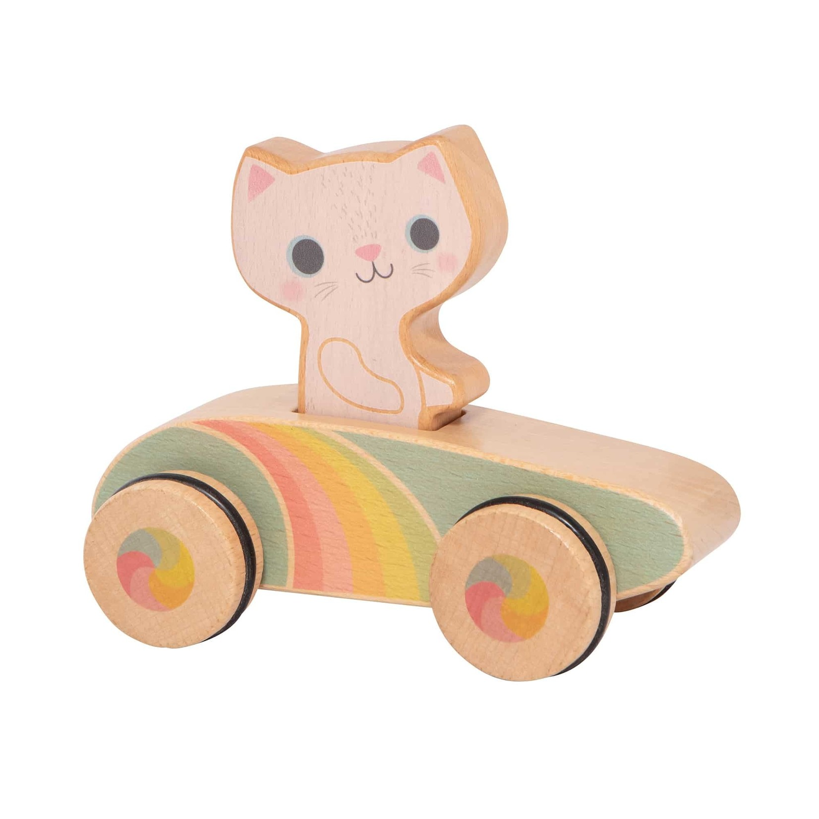 Cruisin' Kitty Rainbow Roller