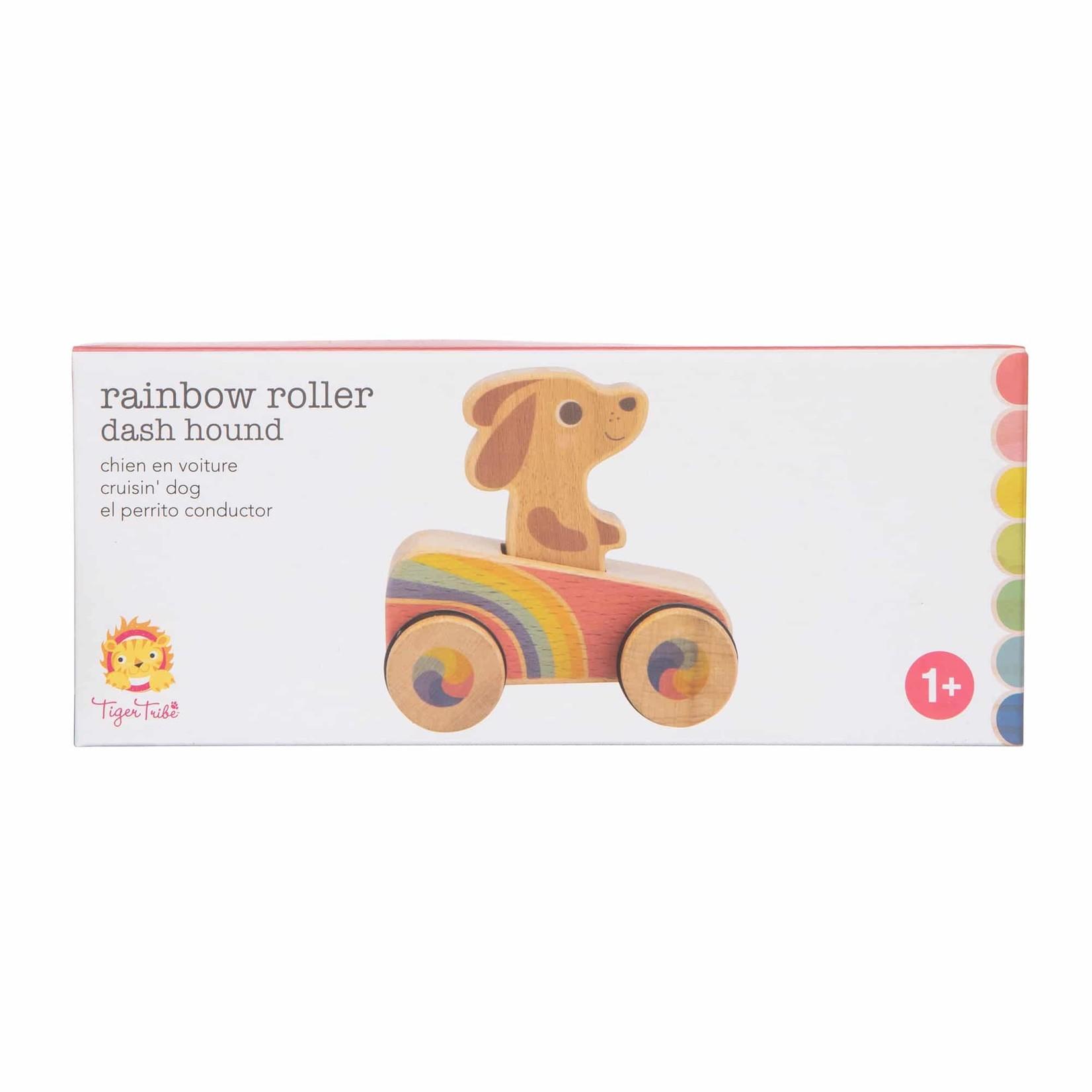 Dash Hound Rainbow Roller