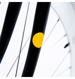 Bookman Gear Collective Yellow Dot Bike Stickers