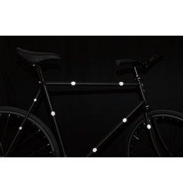Bookman Gear Collective White Dot Bike Stickers