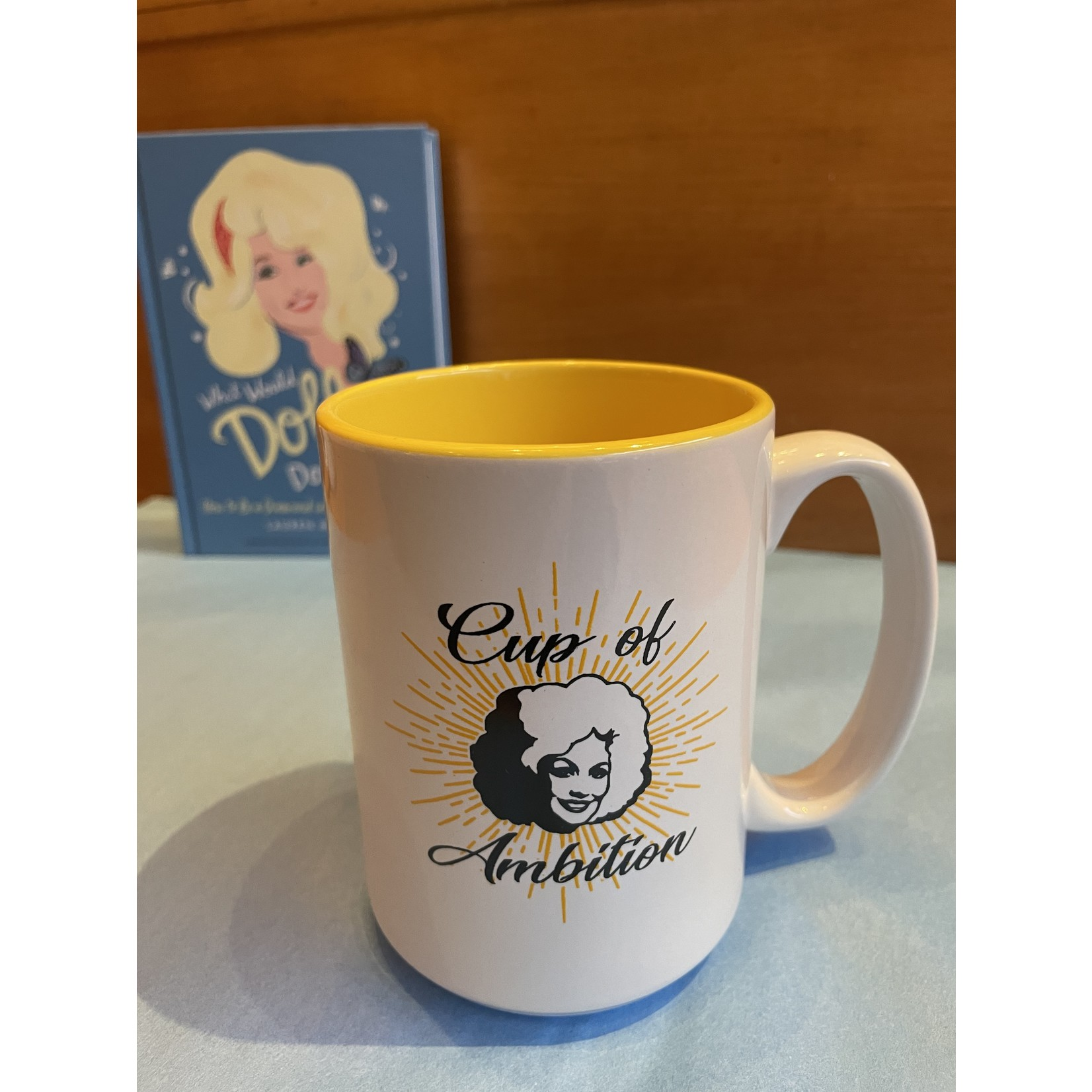 Exit9 Gift Emporium Dolly Ambition Mug