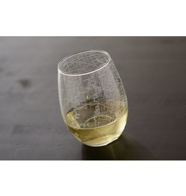 NYC Map Stemless Wine