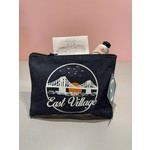 East Village Sunset Denim Pouch