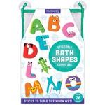 Animal ABC Bath Letters