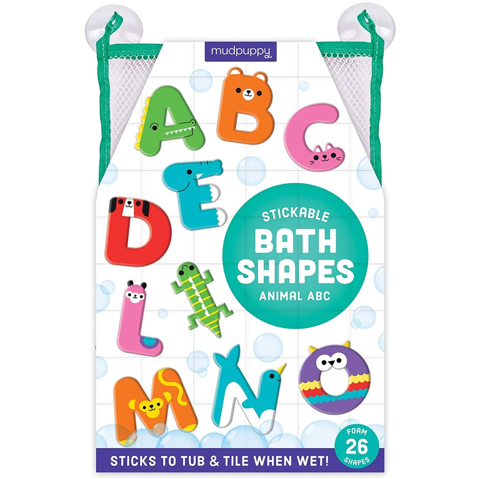 Animal ABC Bath Letters