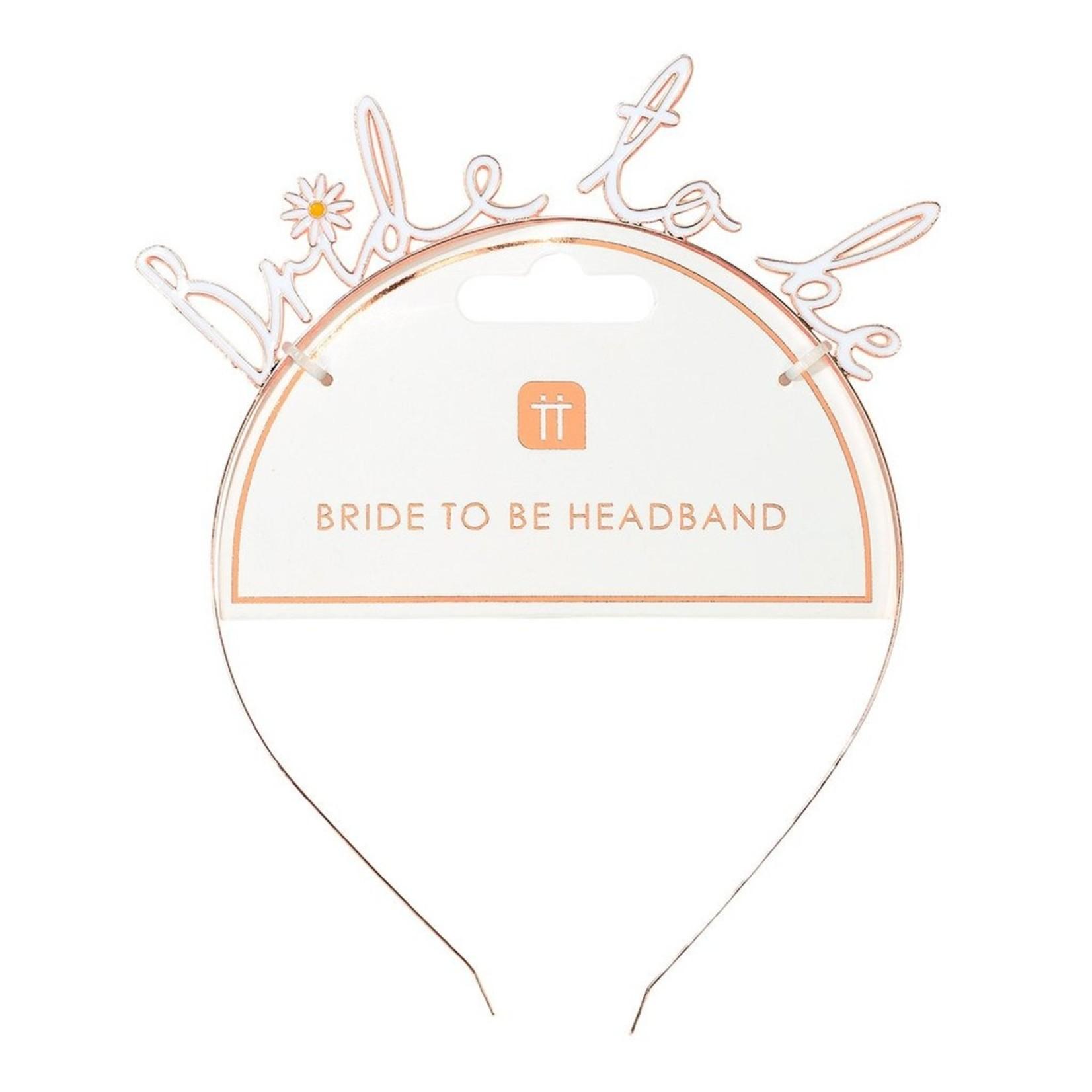 Talking Tables Bride To Be Headband