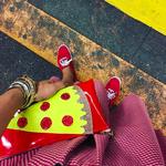 Julie Mollo Pizza Clutch!