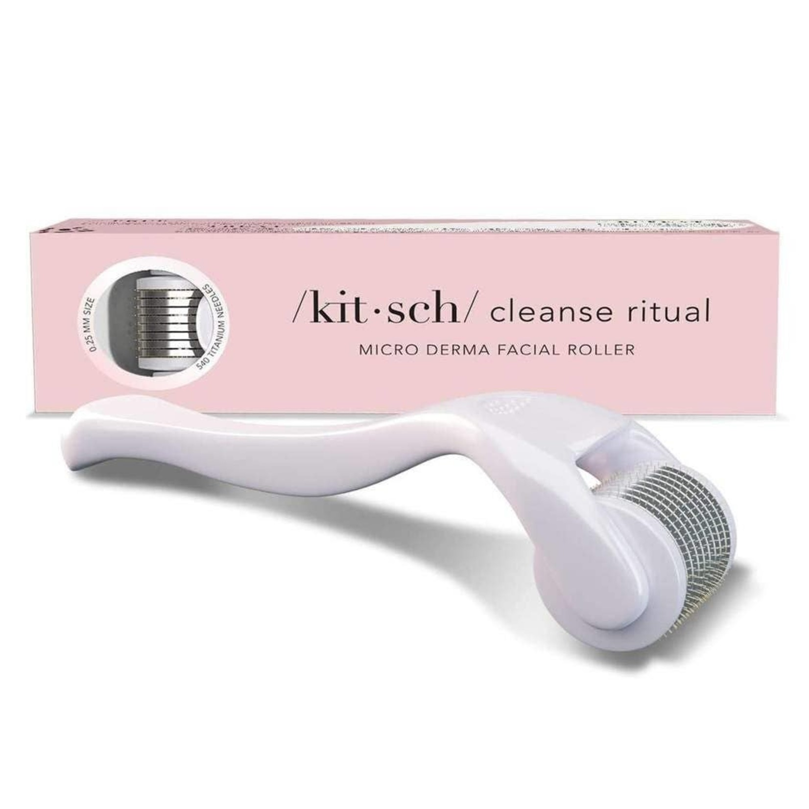 Kitsch Micro Derma Facial Roller in White