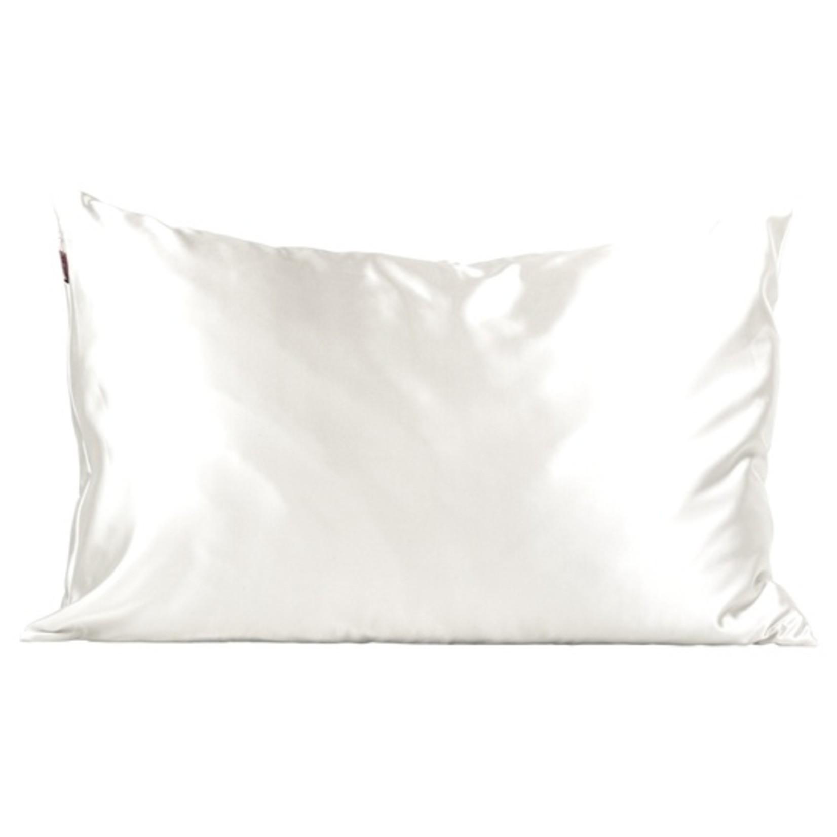 Kitsch Ivory Satin Pillowcase