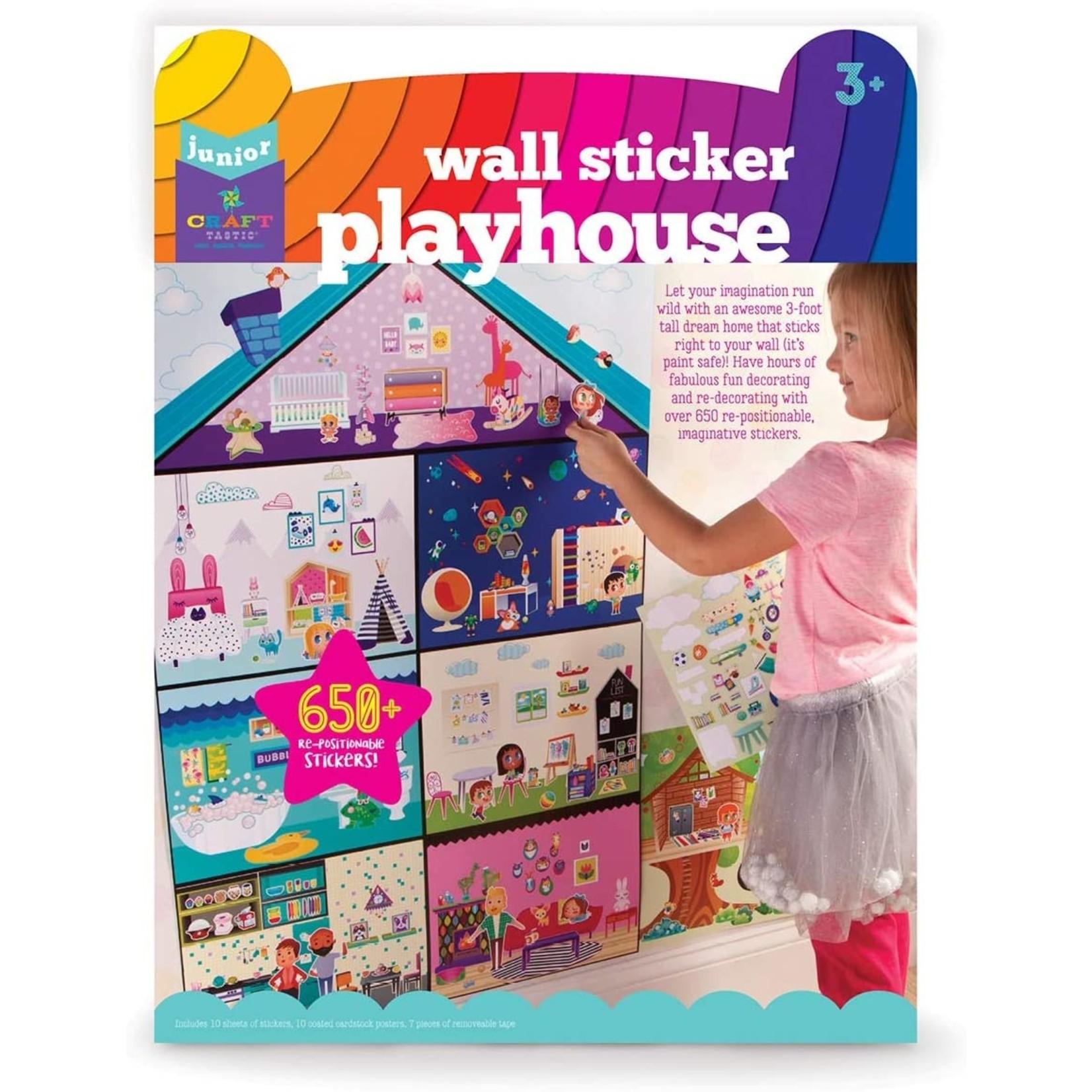Sticker Playhouse Kit