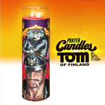 Tom Of Finland Leather Daddy Prayer Candle
