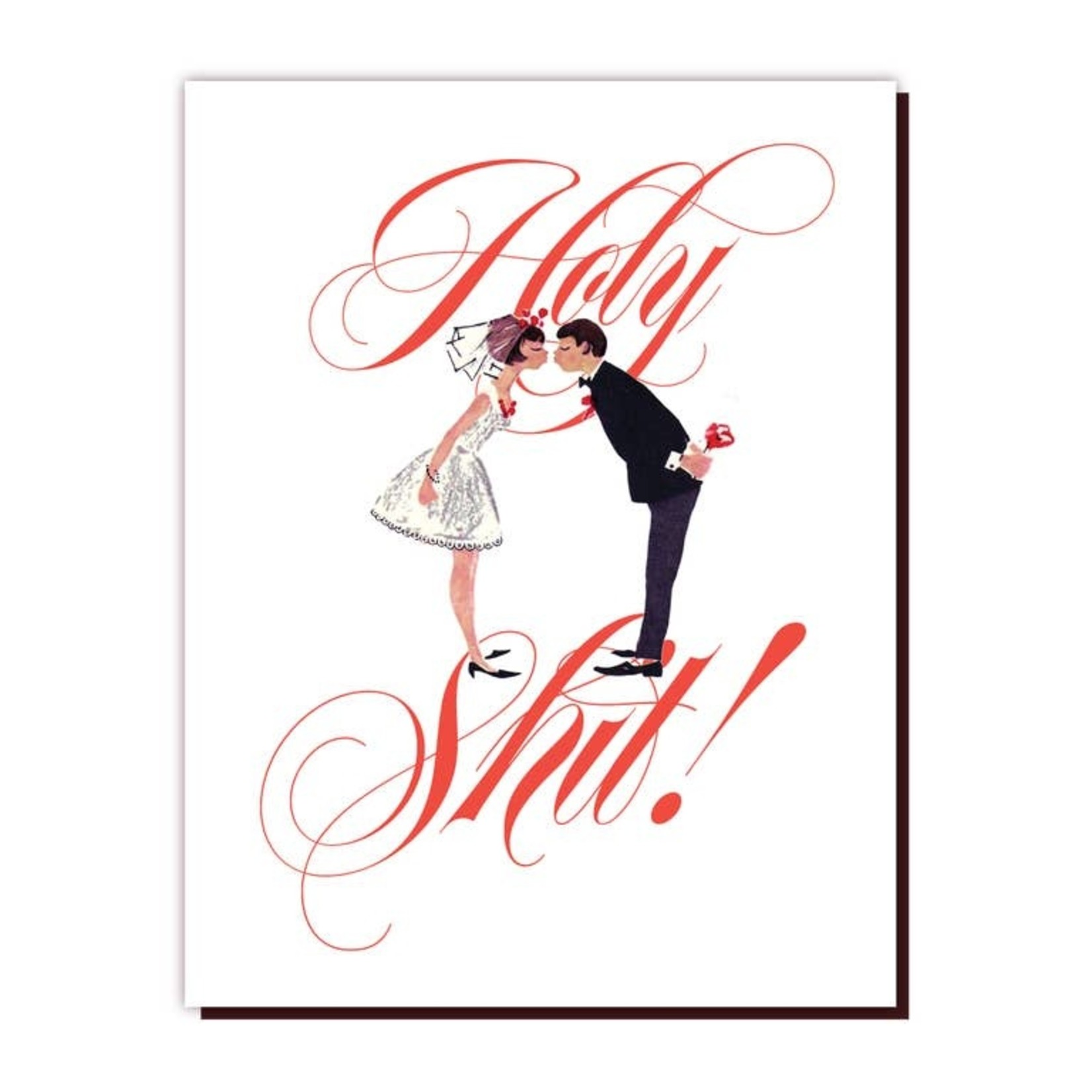 Wedding Card : Holy Shit!