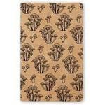 """""""Wild Mushroom"""" Kraft Lined Notebook"""