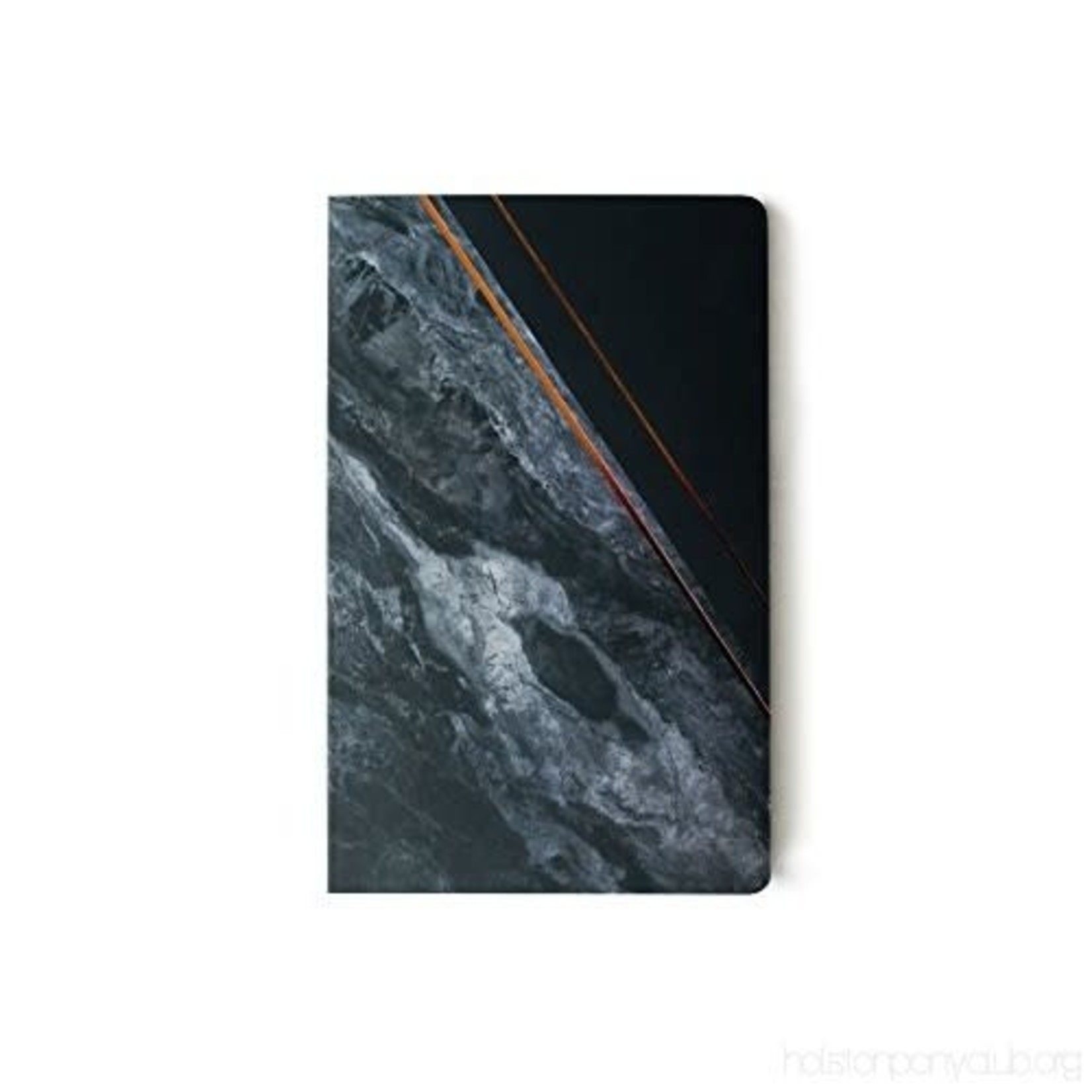 """Obsidian"" Lined Notebook"