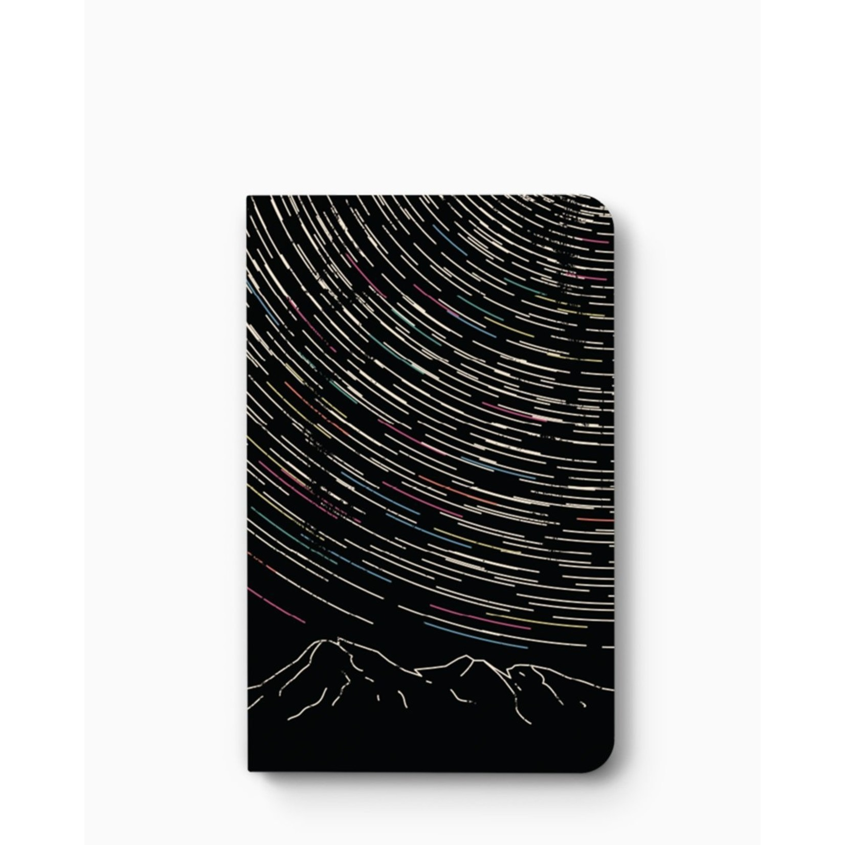 """""""Star Trails"""" Lined Notebook"""