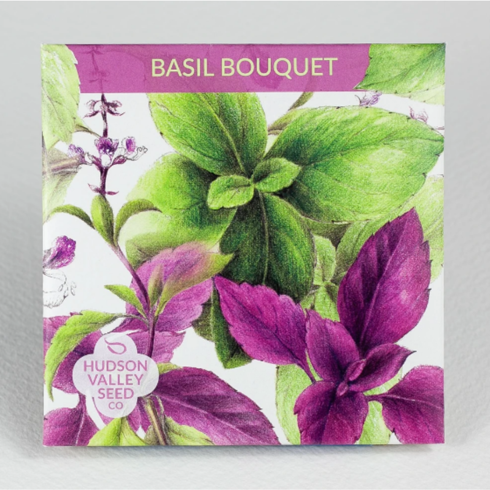 Hudson Valley Seeds Basil Bouquet Seeds