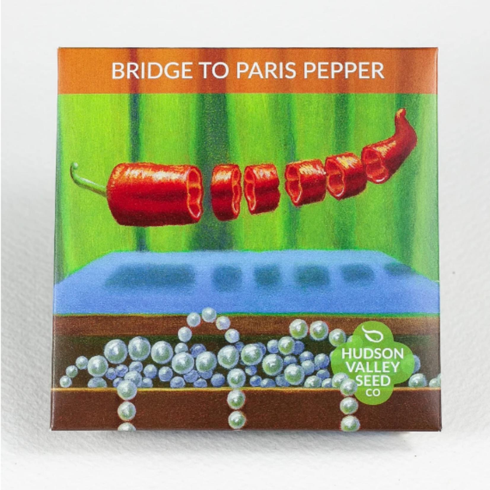 Hudson Valley Seeds Bridge To Paris Pepper Seeds