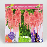 Hudson Valley Seeds Coral Fountain Amaranth Seeds