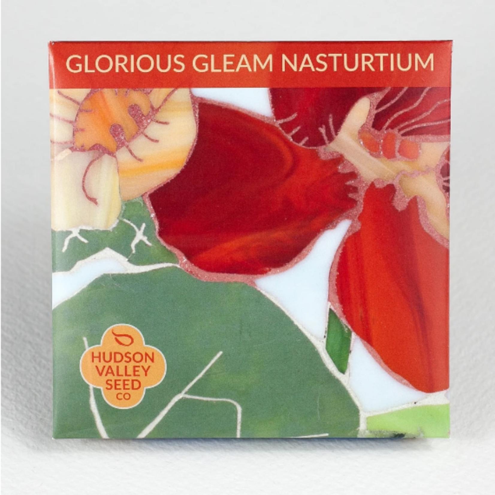 Hudson Valley Seeds Glorious Nasturtium Seeds
