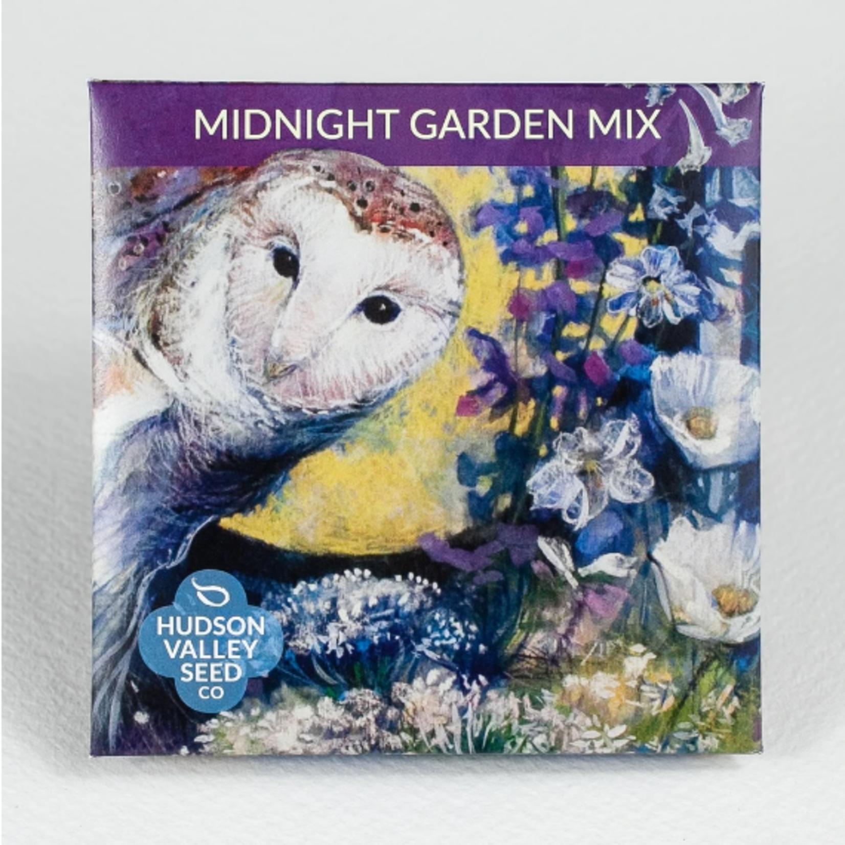 Hudson Valley Seeds Midnight Garden Flower Mix Seeds
