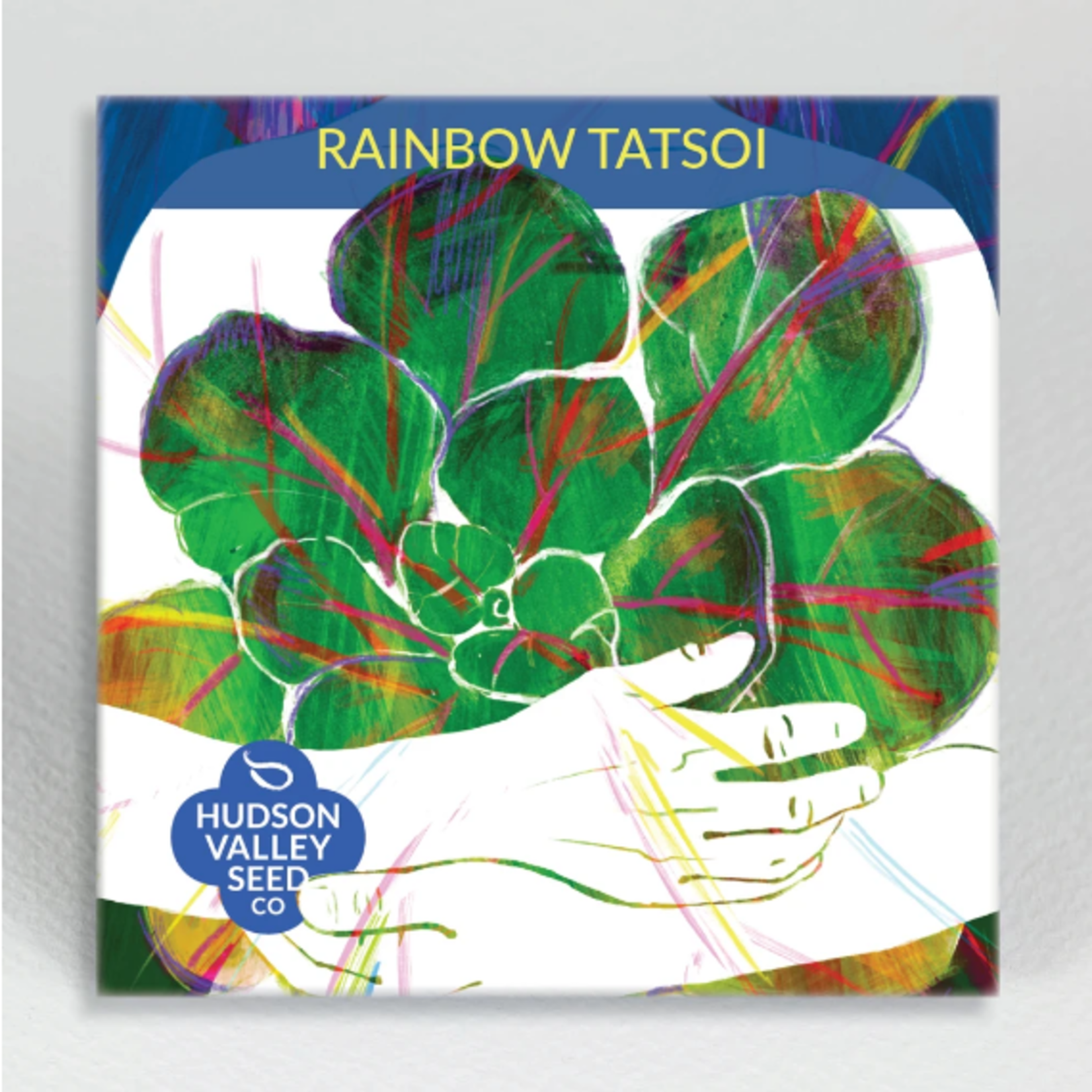 Hudson Valley Seeds Rainbow Tatsoi Seeds