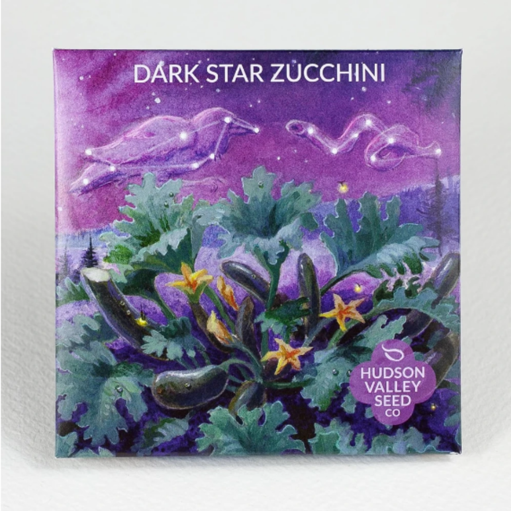 Hudson Valley Seeds Dark Star Zucchini Seeds