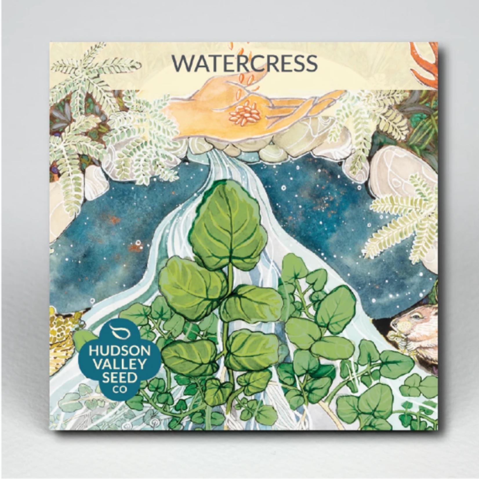 Hudson Valley Seeds Watercress Seeds