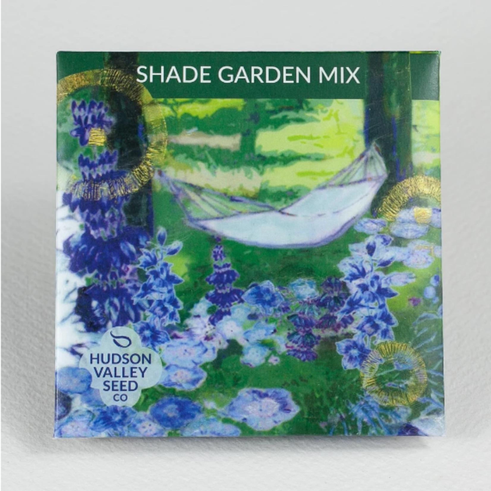 Hudson Valley Seeds Shade Garden Mix Seeds