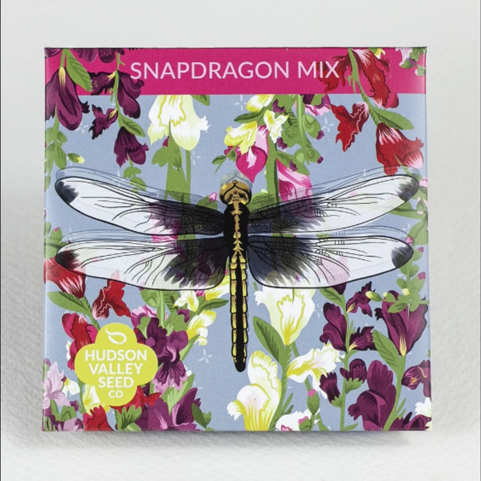 Hudson Valley Seeds Snapdragon Mix Seeds