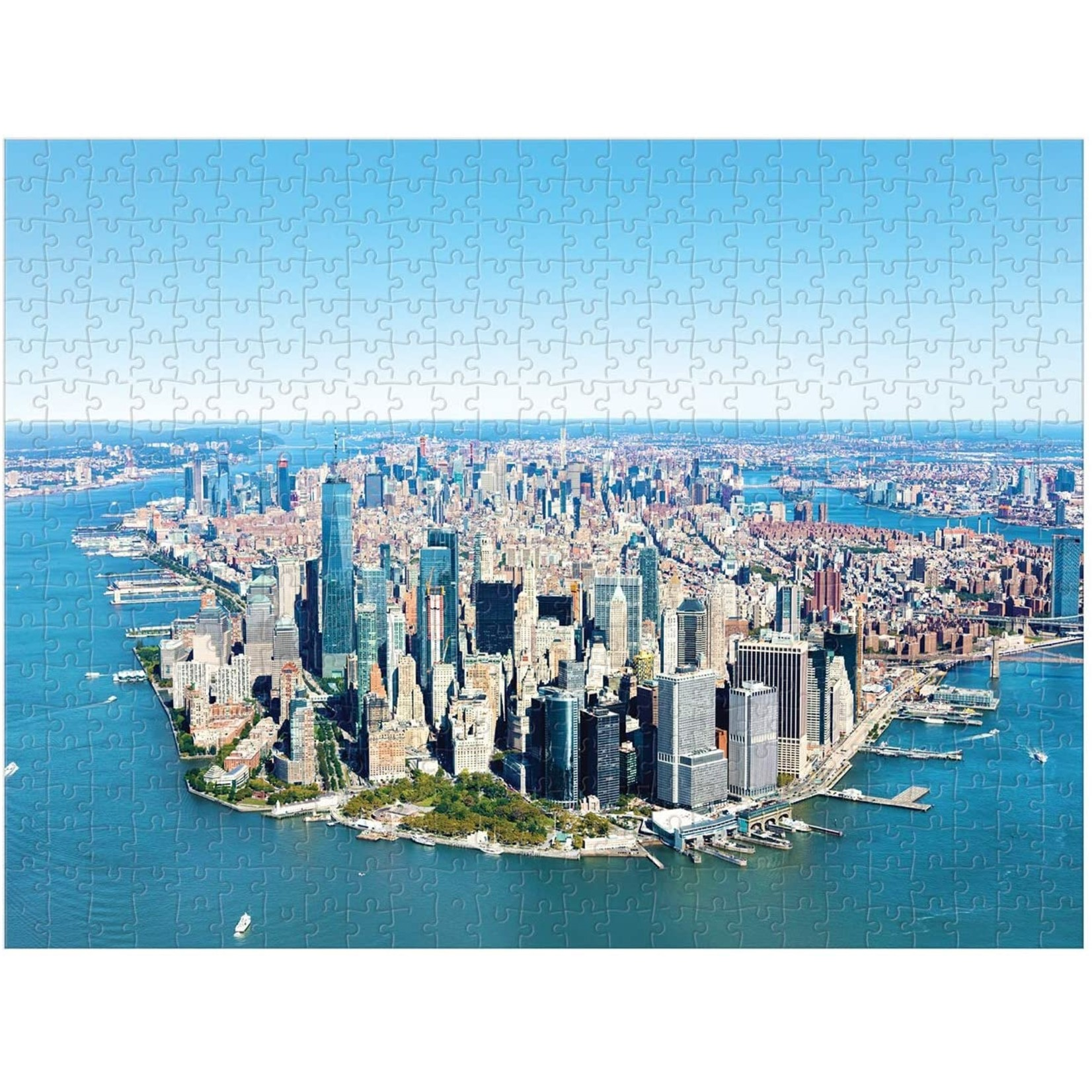 Chronicle Books NYC Photographs Two-Sided Puzzle