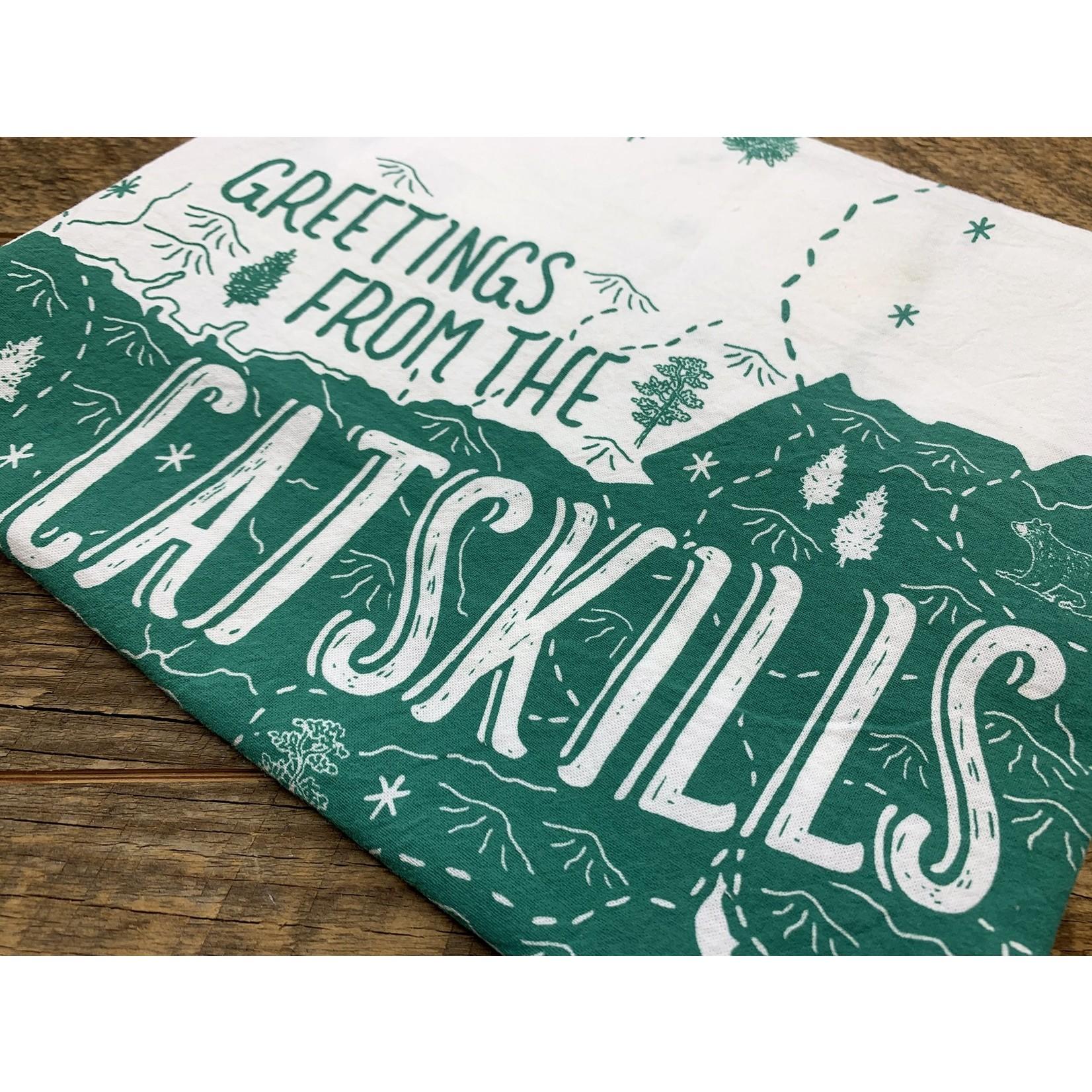 Noteworthy Paper & Press Catskills Tea Towel