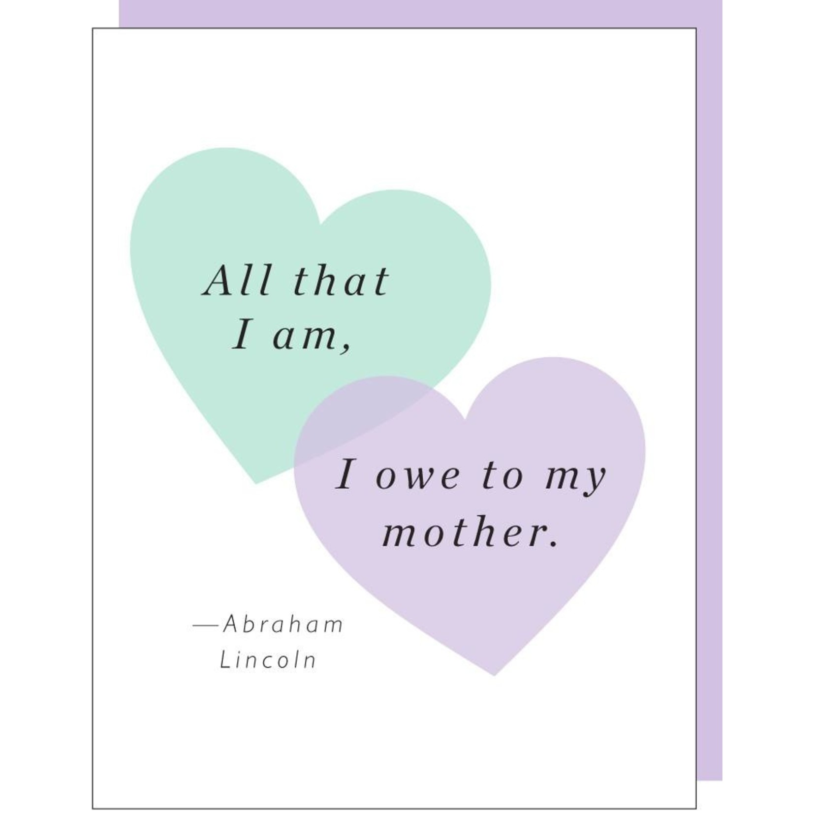 Mother's Day: Owe My Mother