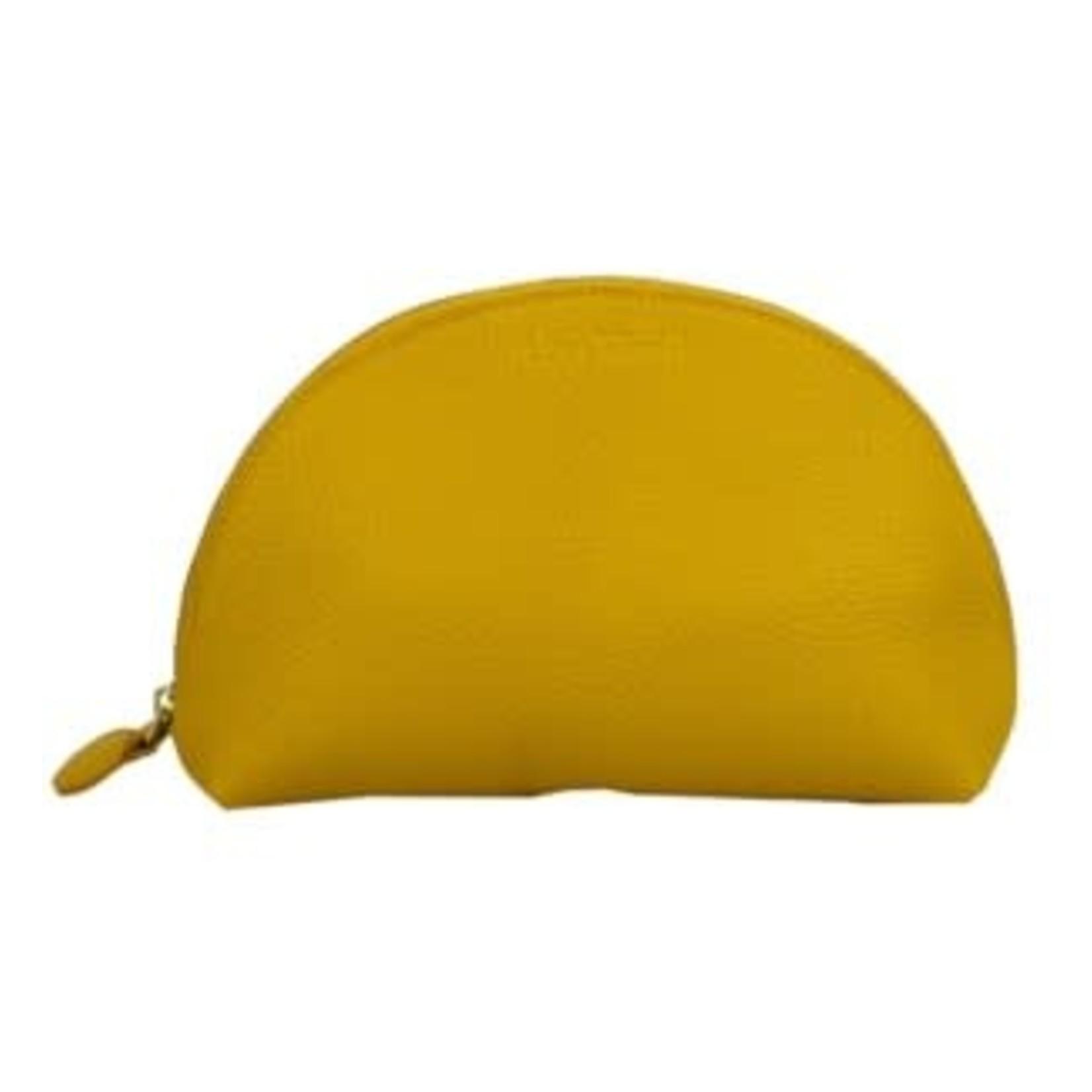 Vivid Cosmetic Bag in Yellow